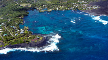 Aerial View of Kapoho Bay